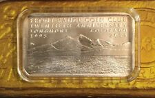 2015 Front Range Coin Club Bar 1 Troy Oz 999 Silver Mintage 75 Daniel Carr