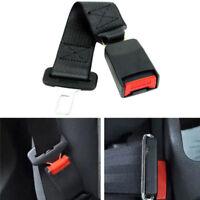Universal Car Auto Seat Seatbelt Safety Belt Extender Extension Buckle Black