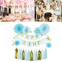 Enfant anniversaire ballon fête Banderole Bannière party maison Décoration
