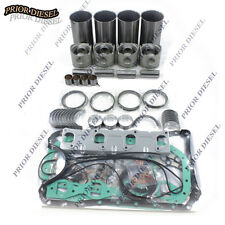 Isuzu 4JB1 2.8L Non-Turbo Engine Rebuild Kit For Mustang Bobcat Loader Excavator