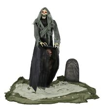 Halloween Lifesize Animated GRAVEYARD REAPER Prop Haunted House Decoration