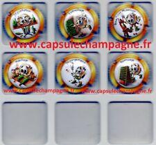 Capsules de champagne série Générique Collection P'tit Cap's Champagne new