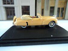 Oxford  1941   Lincoln  Continental  Convertible   Rockingham  Tan  1/87  HO car