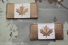 Canadian Forces Subdued Shoulder Patch Flags -medium size- ARID Desert