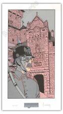 Affiche Serigraphie BD Carin Victor Sackville 150ex-s 34x19