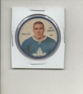 1961-62 Shirriff Hockey Coin Tim Horton #44