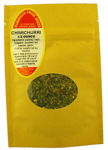 Sample Size, EZ Meal Prep Chimichurri Seasoning 3.49 Free Shipping