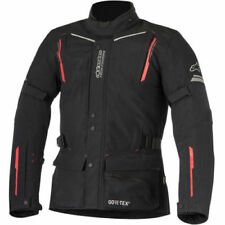 Alpinestars Guayana Gore-Tex Textile Motorcycle Jacket - Black/Red Medium