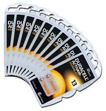 24 x Duracell Activair piles pour appareils auditifs Piles type 13