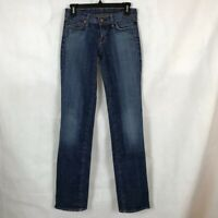 Citizens of Humanity Ava Jeans Size 26 Blue Low Waist Stretch Straight Leg