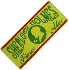 Sherlock Holmes Traditional Ale Cotton Bar Towel 500mm x 225mm (pp)