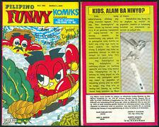 2001 PILIPINO FUNNY KOMIKS For Children TOMAS EN KULAS Comics # 1185