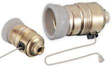 Lampenfassung E27 mit Zugband Zugschalter Seil Schalter Zug Lampen Fassung LED