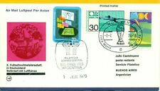 Germany-Argentina, World Cups 1974 & 1978, cover, lot # 85