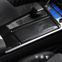 Carbon Look Mittelkonsole Getränkehalter Dekor passend für Audi A6 C8 4K ab 2018
