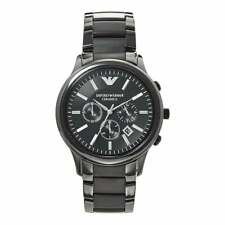 Armani Watches AR1451 Black Ceramica Chronograph Mens Watch