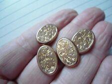 No Stone Rose Gold Edwardian Fine Jewellery