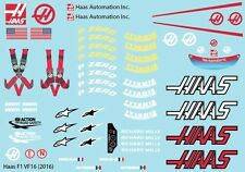 Decal Sheet 1/10 Sticker F1 HA 2016 TRF102 xray X1 Shepherd vélox F1 pd1320
