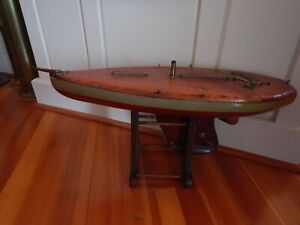 Antique Ship Model Sailboat Pond Boat Nautical