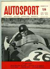 Autosport 27th SEPTEMBRE 1957 * TOUR DE FRANCE RALLYE & Triumph TR 3 *