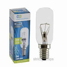 Energy Saving Cooker Hood Bulbs Eco 40W Equivalent Ses E14 Screw Fit Twin Pack