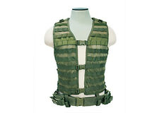 NEW NcSTAR OD Green XL-XXL MOLLE WEB PALS Modular Tactical Protective Vest Gear