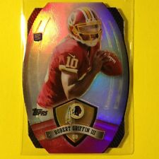 2012 TOPPS ROBERT GRIFFIN III RC GAMETIME GIVEAWAY SP DIECUT #1 NFL #REDSKINS