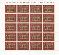 2000 Cristianizzazione - Vaticano - minifoglio