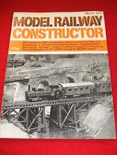MODEL RAILWAY CONSTRUCTOR - TOY FAIRS - March 1971 Vol 38 # 443