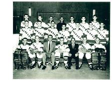 1955 1956 NEW YORK RANGERS 8X10 TEAM  PHOTO  HOCKEY NHL USA HOF