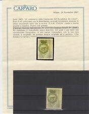 FRANCOBOLLI - 2003 REPUBBLICA ACCADEMIA DEI LINCEI E. 0,41 VARIETA' V/961