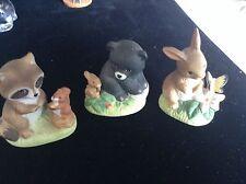 Homeco Wild Animal set of 3 Figurines # 1418