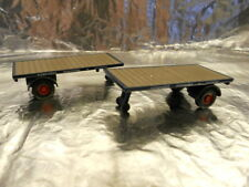 ** Oxford Diecast 76MH007T Pack of 2 Flat Trailers Pickfords 1:76 00 Scale