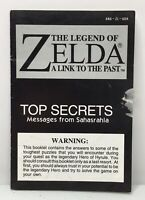 SNES The Legend of Zelda: A Link to the Past Top Secrets Booklet *Authentic*