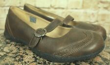 KEEN WOMEN'S BROWN LEATHER MARY JANE CASUAL SHOES SIZE 7US/37.5EU EUC!