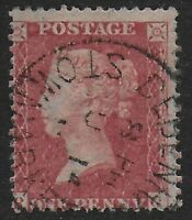 SG40.  1d.Rose-Red. Superb Used With CDS For Debenham,Stowmarket.  Ref.0/82