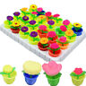 2 x Colorful Growing Flower Water Swell Growing Toy Kid Gift Expansion ToysI JDD