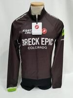 New Castelli Wind Jacket Men's Small Black Road Bike Cycling Breck Epic SRAM