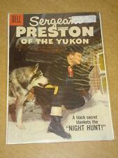 SERGEANT PRESTON OF THE YUKON #25 VF- (7.5) DELL COMICS JANUARY 1958 <