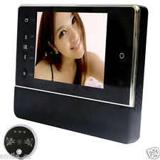 LCD Digital Peephole Viewer 120°Door Eye Doorbell Host Video Night Vision Camera