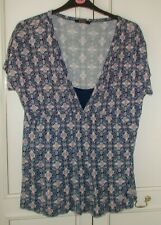 George Tunic Length Maternity Top with Modesty Panel size 18