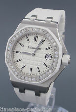 Audemars Piguet Ladies Royal Oak Offshore Quartz White Diamonds 67540sk