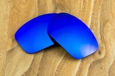 Blue Sapphire Iridium Mirrored Replacement Sunglass Lenses for Oakley Scalpel