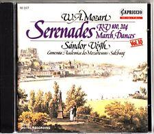 MOZART- Serenades Nos 1 & 5/Contradances- SANDOR VEGH Vol.10, SALZBURG CD