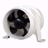 Marine Blower 4in 12V In-Line Ventilation Fan Turbo 4000 Series II Boat RV Parts