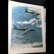 Orig 1968 Us Govt Printing Office Poster B-52 Stratofortresses Bombing Vietnam
