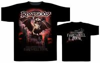 Rhapsody 20th Anniversary Shirt S M L XL XXL Power Metal Tshirt Official T-Shirt