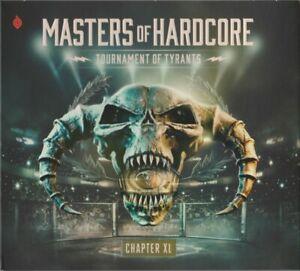 MASTERS OF HARDCORE XL = Angerfist/Anime/Drokz/Dyprax...= 2CD = HARDCORE GABBER!