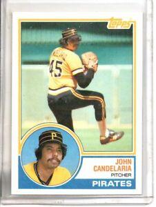 1983 TOPPS JOHN CANDELARIA (NM/MT OR BETTER) //