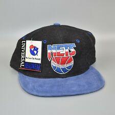 New Jersey Nets NBA Vintage 90's Universal Headwear Men's Snapback Cap Hat - NWT